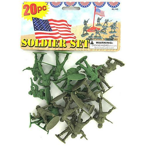 Plastic Soldiers Play Set ( Case of 48 )