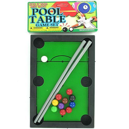 Pool table game set ( Case of 72 )