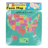 USA Foam Map Set ( Case of 72 )