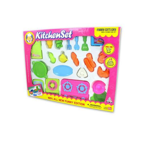 Kitchenware play set assorted ( Case of 12 )
