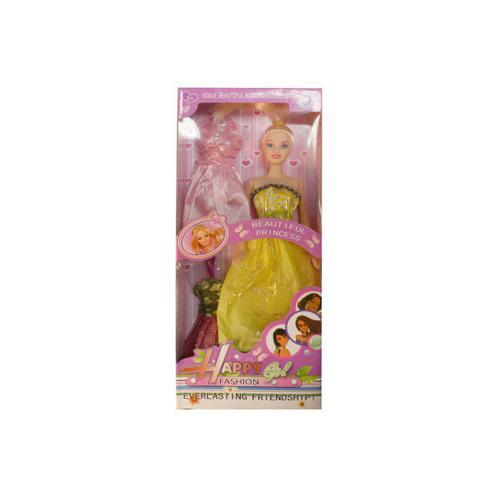 Fashion doll with accessories ( Case of 6 )