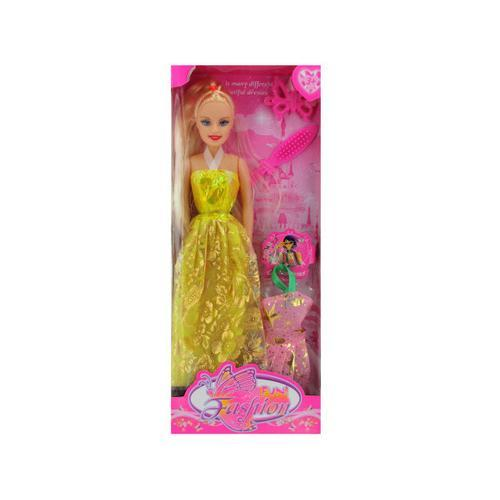 Fun Fashion Doll with Accessories Set ( Case of 8 )