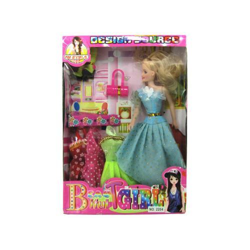 fashion doll set ( Case of 6 )