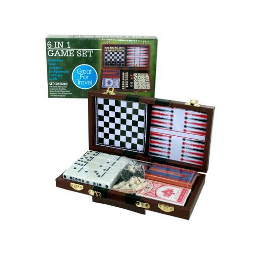 6 in 1 Game Set ( Case of 1 )