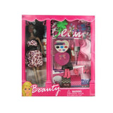 Black Fashion Doll with Dress and Accessories ( Case of 2 )