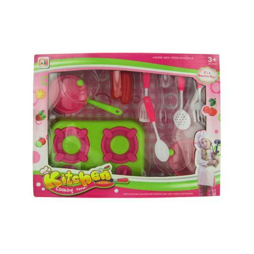 Kitchen Play Set with Food ( Case of 12 )
