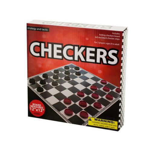 Folding Checkers Game ( Case of 20 )