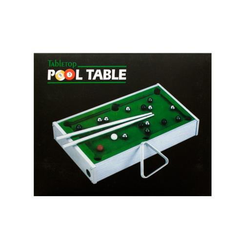 Mini Tabletop Pool Table ( Case of 1 )