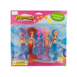 Mini Mermaids with Accessories Set ( Case of 8 )