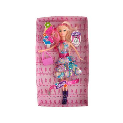 Glitter Fashion Doll with Accessories ( Case of 4 )