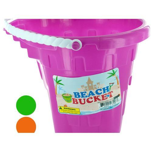 Beach Sand Play Bucket ( Case of 12 )