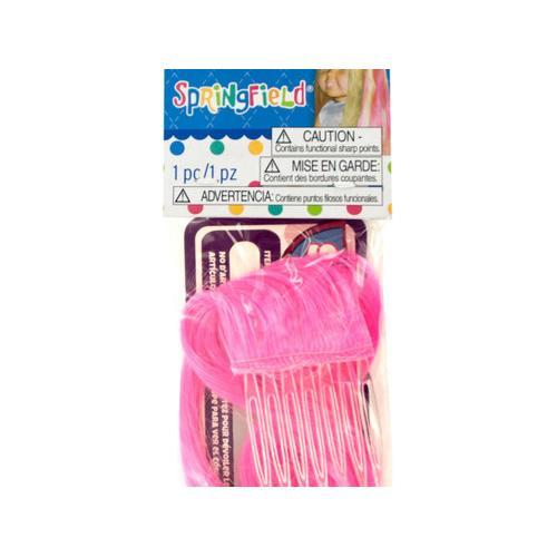 Springfield Hot Pink Doll Hair Extension ( Case of 48 )