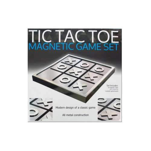 Tic Tac Toe Magnetic Game Set ( Case of 4 )