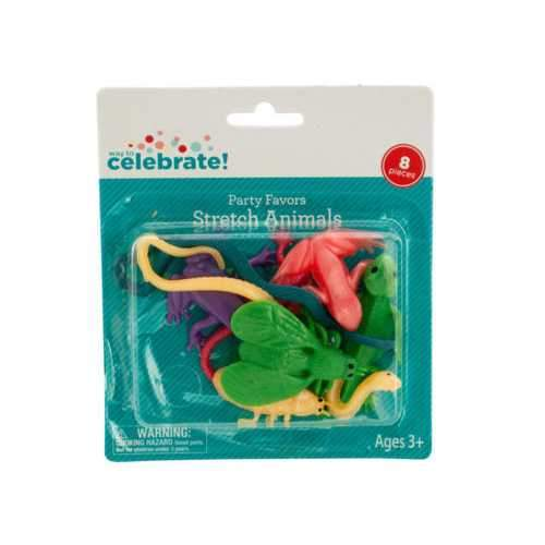 Stretch Animals Party Favors ( Case of 108 )