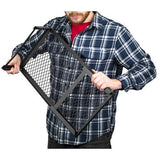 Steel Mesh Over Fire Camping Grill Gate, Personal Size