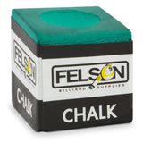 Pool Cue Chalk 12-pack, Green