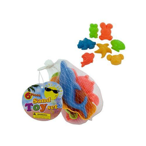 Toy Sand Molds Set ( Case of 24 )