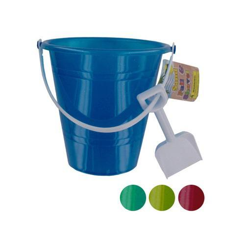 Glitter Sand Pail with Shovel ( Case of 72 )