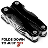 11-in-1 3' Multitool,Black