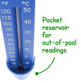 Pocket Reservoir Pool Thermometer