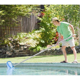 12' Aluminum Telescoping Pool Pole, Fluted