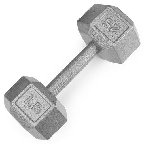 25lb Cast Iron Hex Dumbbell