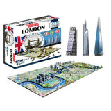 4D London Skyline Time Puzzle