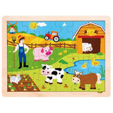 Busy Barnyard Inset Jigsaw Puzzle