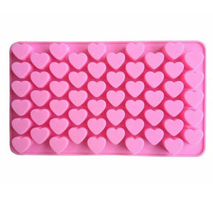 Heart Style Silicone Mold