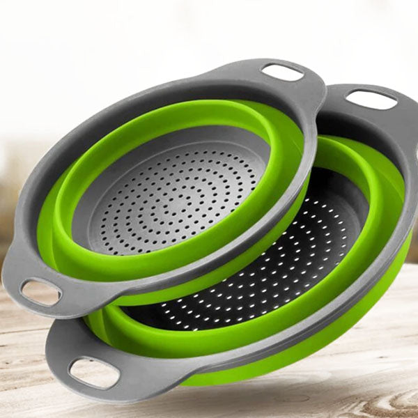 Collapsible Strainers (2pc Set)