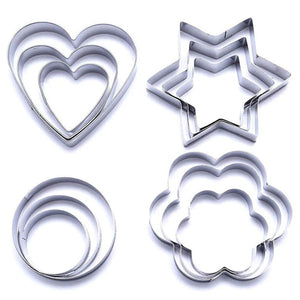 Cookie Cutters -12 Piece