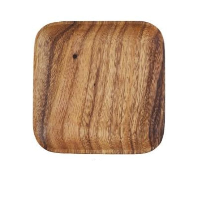 Japanese Whole Wood Plate