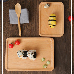 Japanese Bamboo Wooden Tray