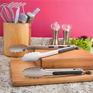 Stainless Steel Kitchen Tongs