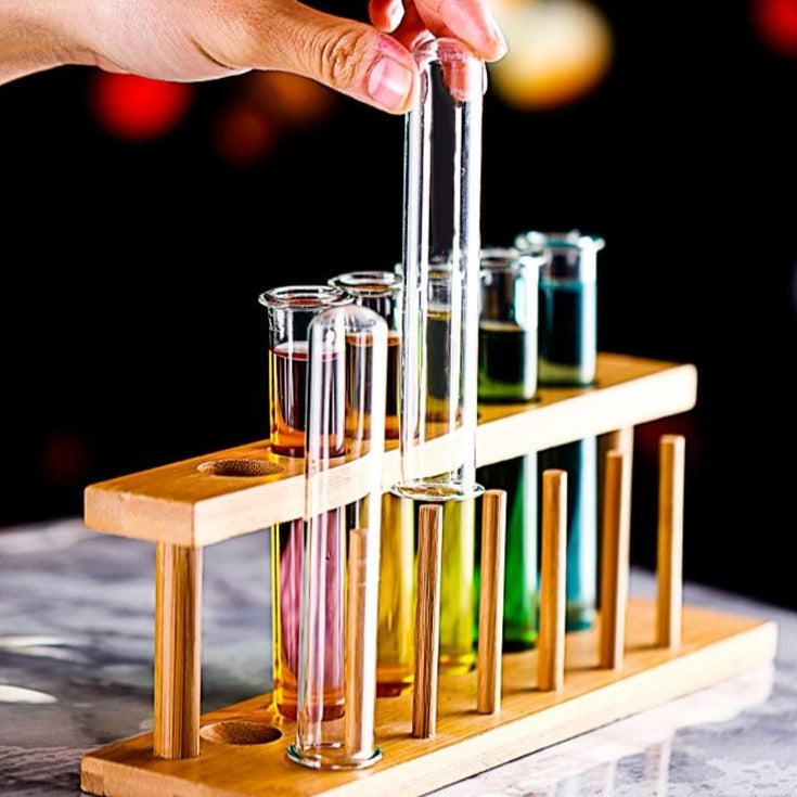 Test Tube Cocktail Glasses