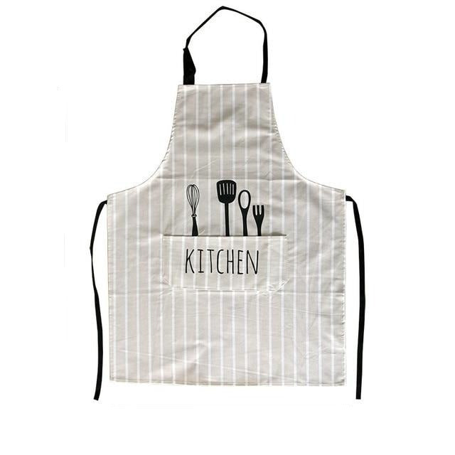 Adjustable Print Pattern Apron