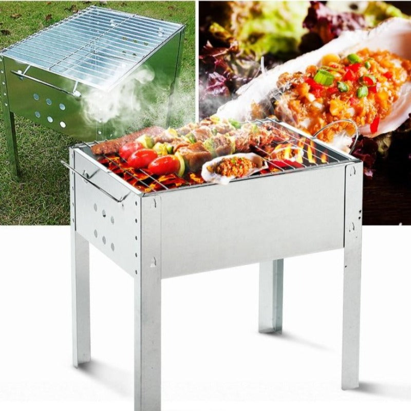 Stainless Steel Portable Grilling Barbecue