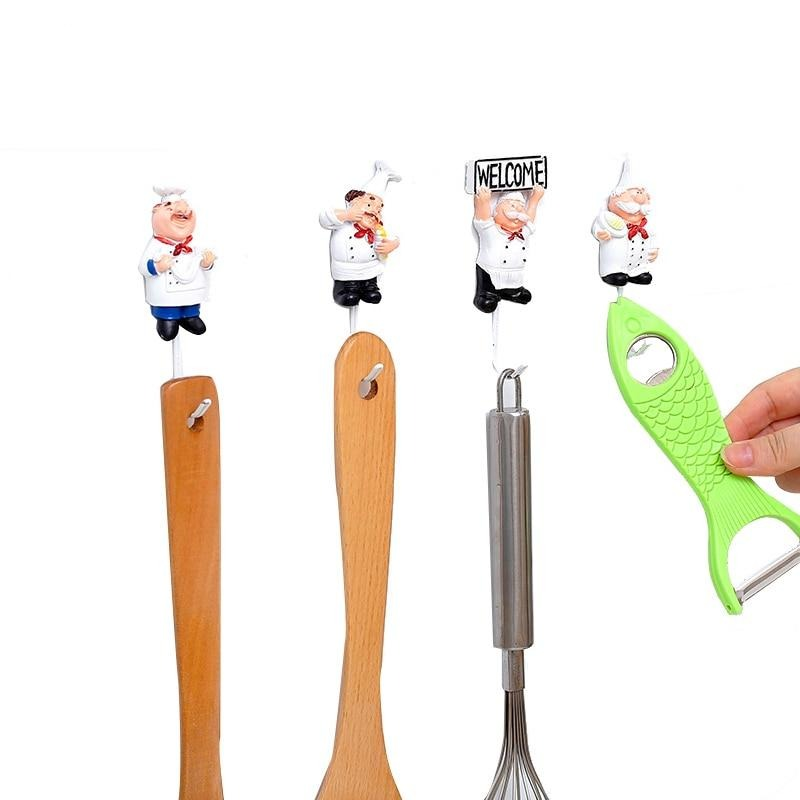 Kitchen Cartoon Wall Hooks