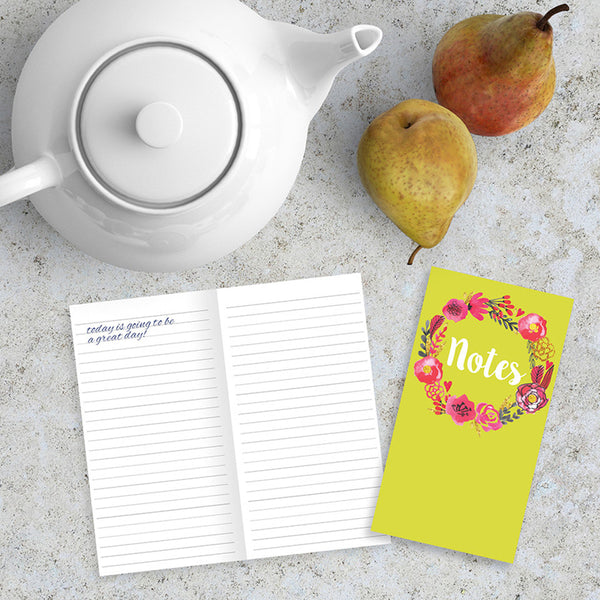 Note Blossom Jotter