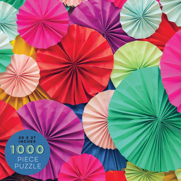 1000 Piece Paper Blooms Jigsaw Puzzle