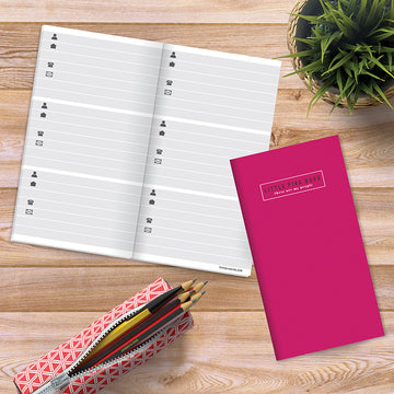 Pink Address Book - BOLD MOVES COLLECTION