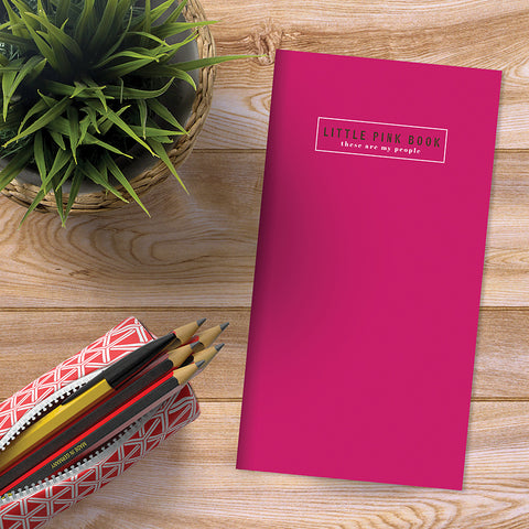 PRESALE - Pink Address Book - BOLD MOVES COLLECTION