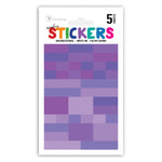 Rainbow Write-on Planner Color Coded Stickers