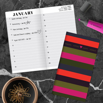 Stripes Celebration Book - BOLD MOVES COLLECTION