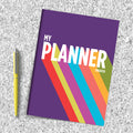 Rainbow Monthly Planner