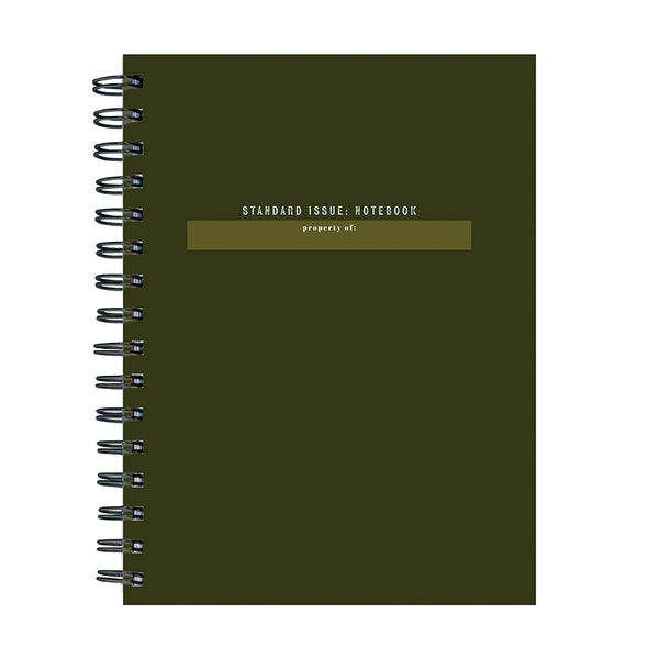 Standard Issue Spiral Journal - BOLD MOVES COLLECTION