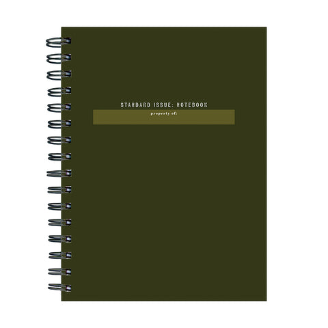 PRESALE - Standard Issue Spiral Journal - BOLD MOVES COLLECTION