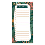 Enchanted Lists and Things Boho Magnet List Pad
