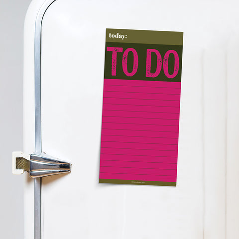 PRESALE - Big To Do Memo Magnet Pad - BOLD MOVES COLLECTION