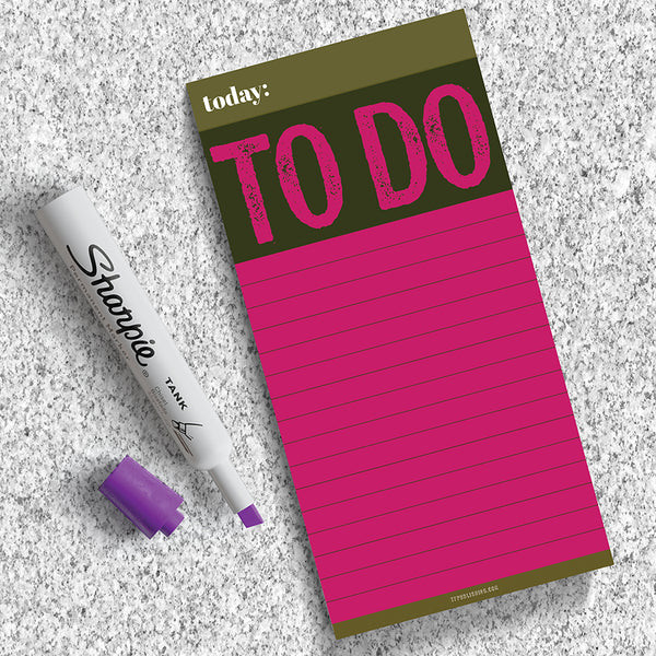 Big To Do Memo Magnet Pad - BOLD MOVES COLLECTION